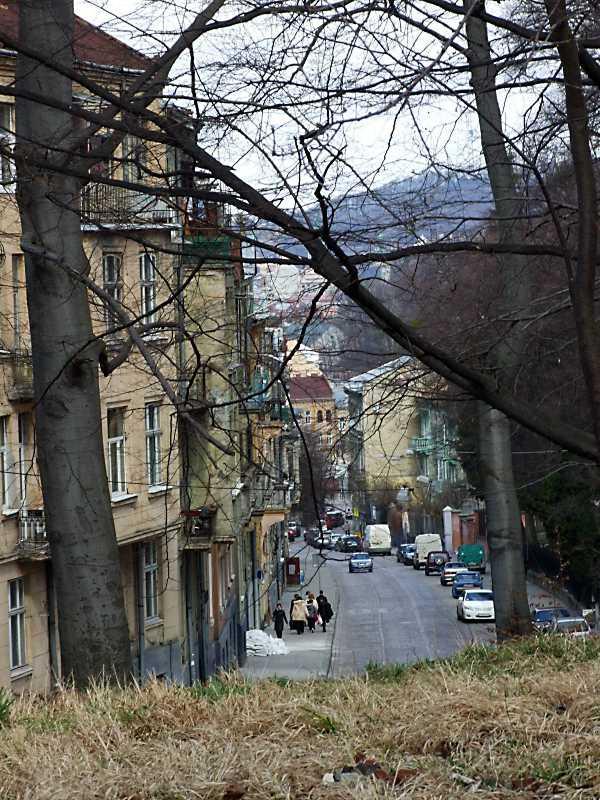 2012 р. Перспектива від костелу Софії…