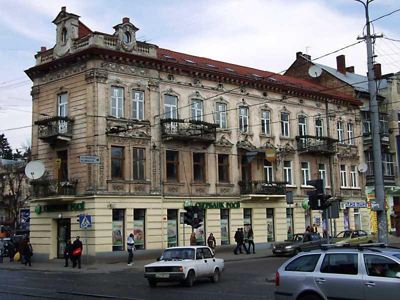 2012 р. Фасад по вул. Шота Руставелі