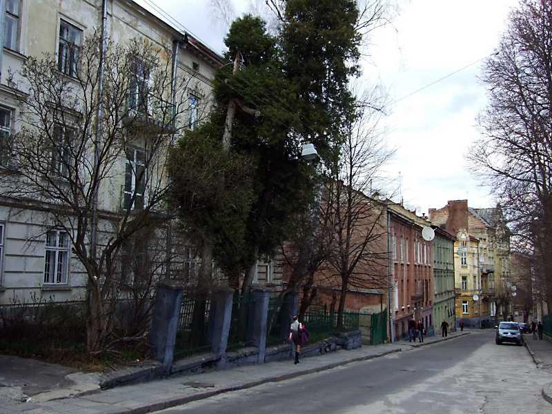 2012 р. Перспектива від № 38 в бік вул. Глібова