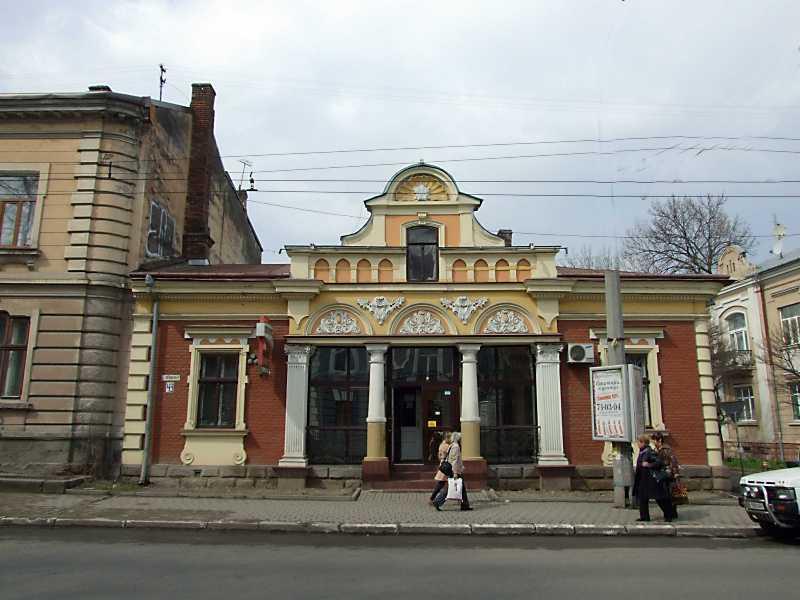 2012 р. Фасад по вул. Б. Лепкого