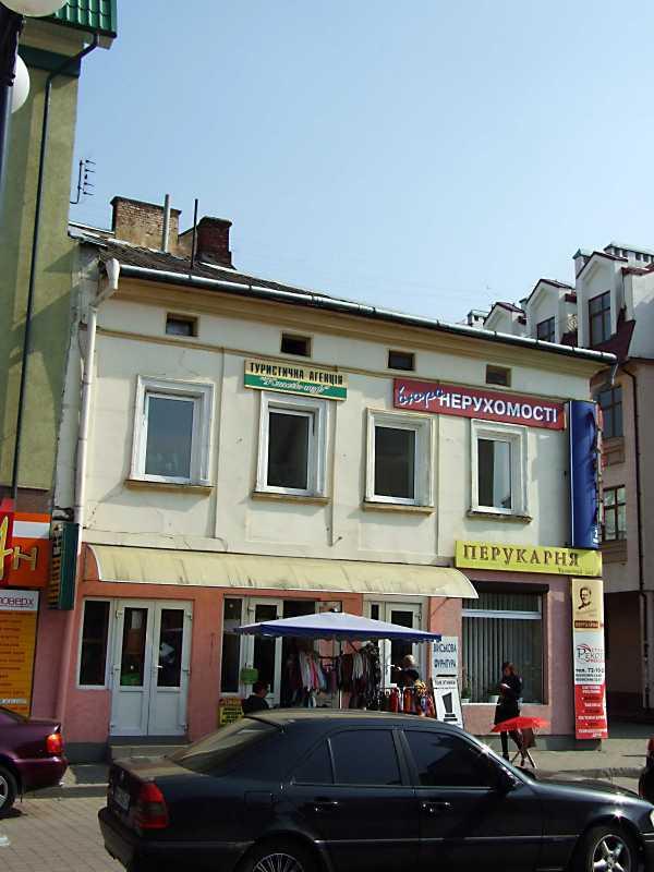 Будинок (вул. Мельничука, № 1)