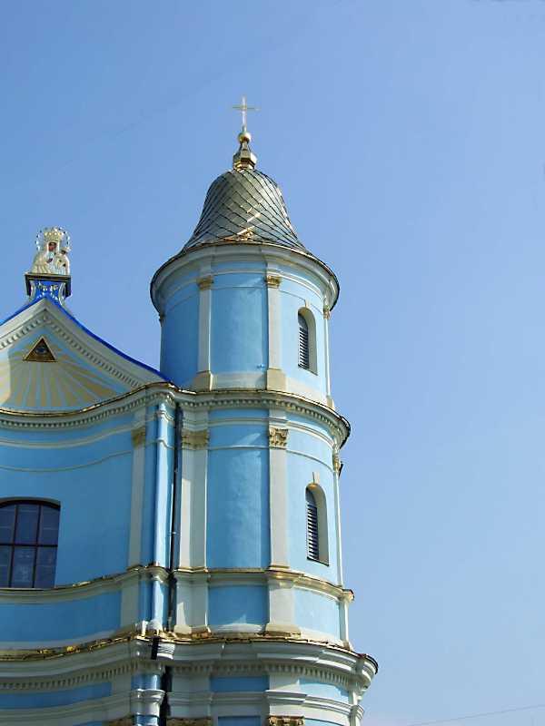 Верхні яруси південної башти