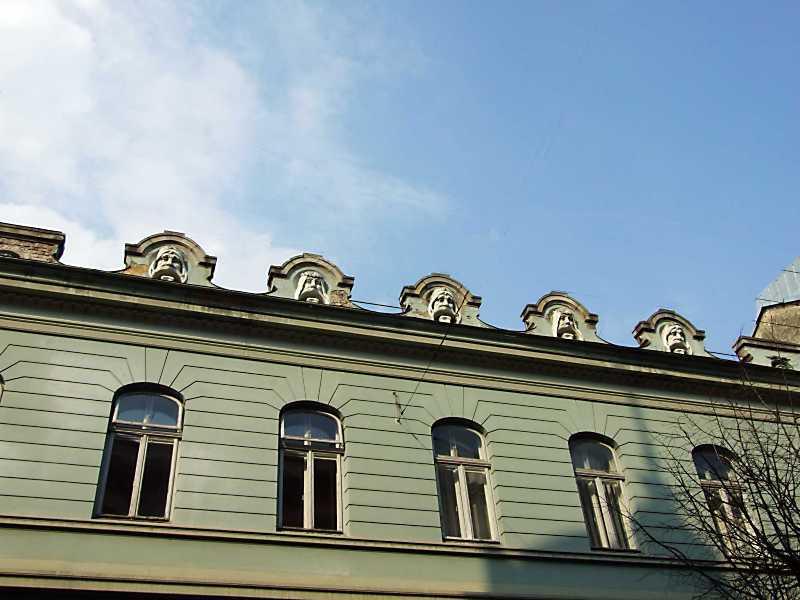 2012 р. Фрагмент фасаду по вул.…