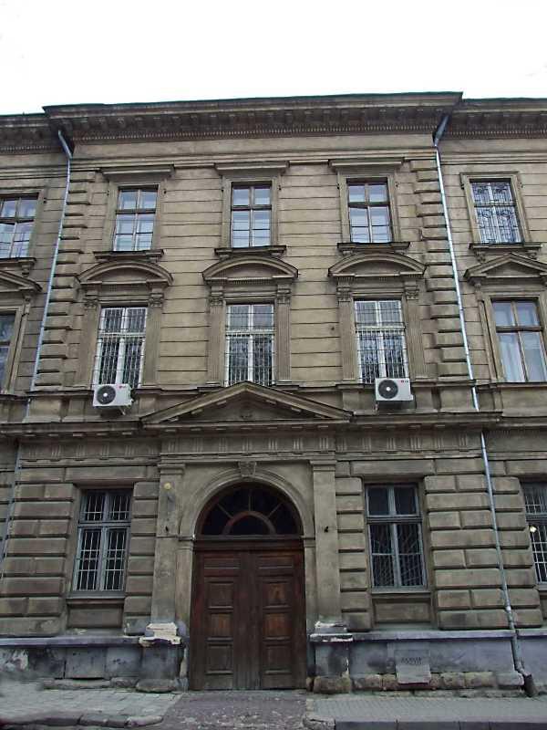 2012 р. Центральна частина фасаду по вул. Коперника