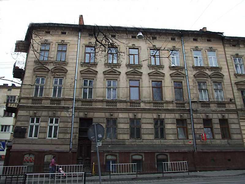 2012 р. Фасад по вул. Чупринки