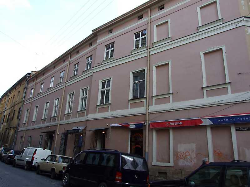 2012 р. Фасад по вул. Лесі Українки