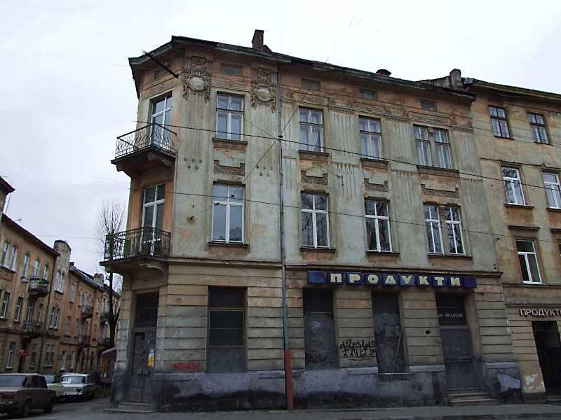 2012 р. Фасад по вул. Личаківській