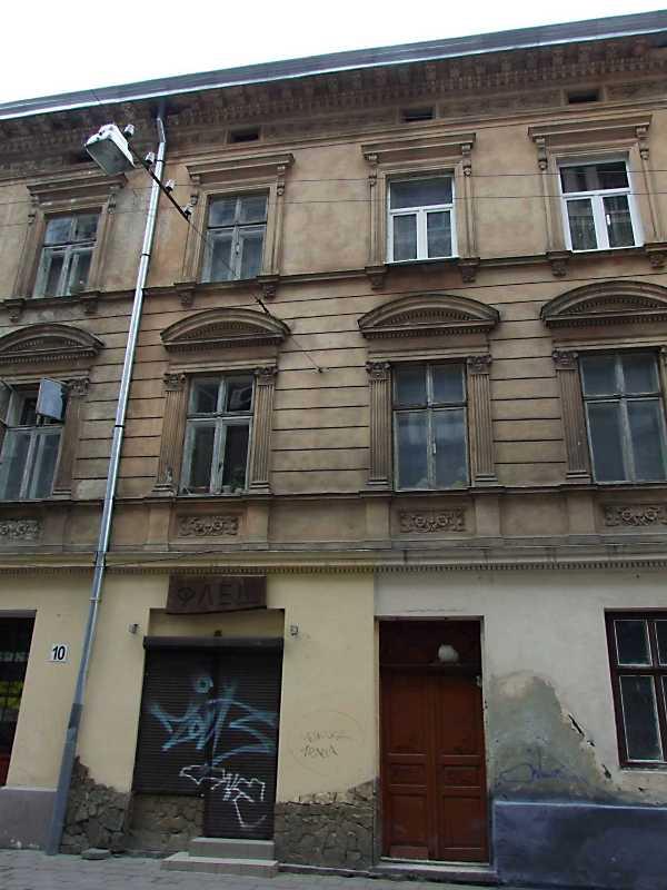 2012 р. Фрагмент фасаду по вул. Банківській