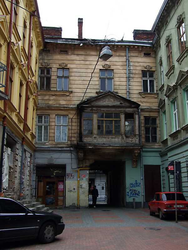 2012 р. Тиловий фасад будинку по вул.…