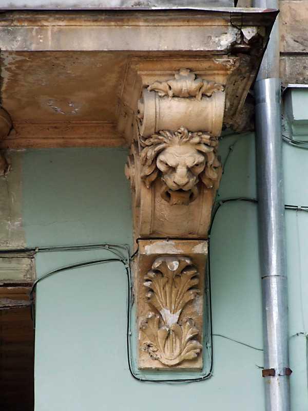 Скульптурна консоль балкона