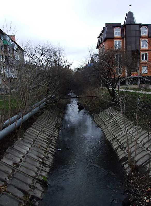 2012 р. Вид річки Сапалаївки з…