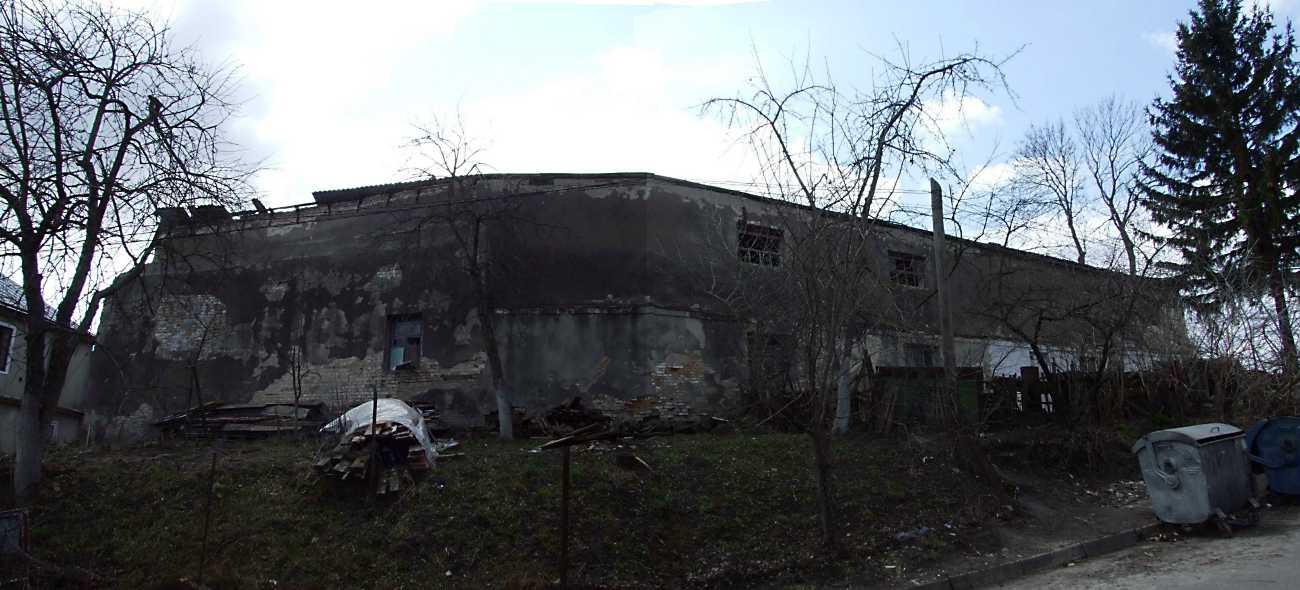 2012 р. Панорама залишків давніх споруд