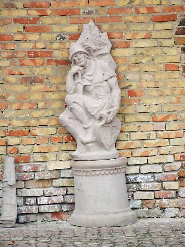Скульптура воїна
