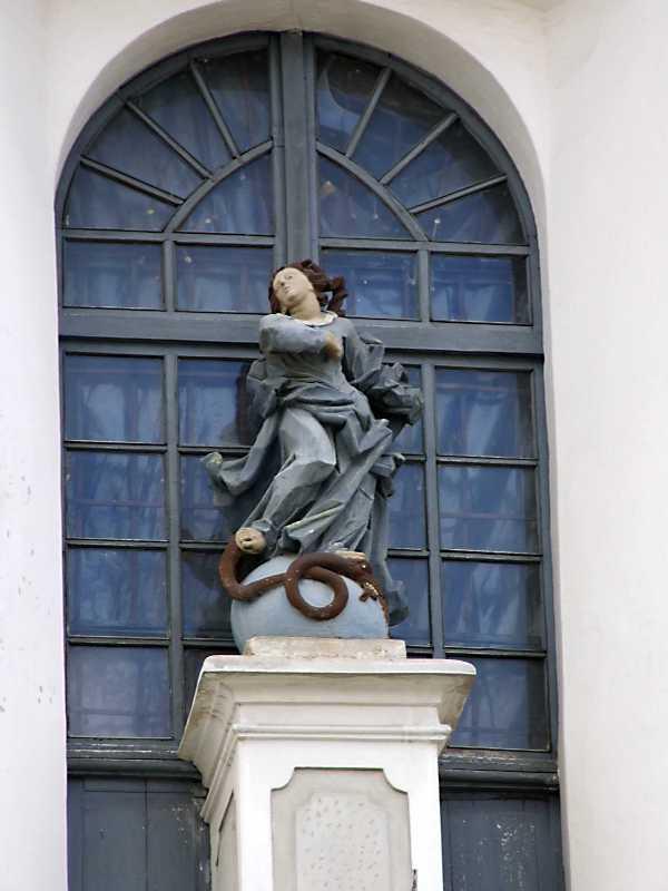 Скульптура «Непорочне зачаття»