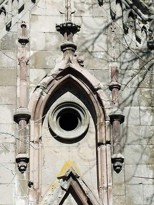 Вікно головного фасаду