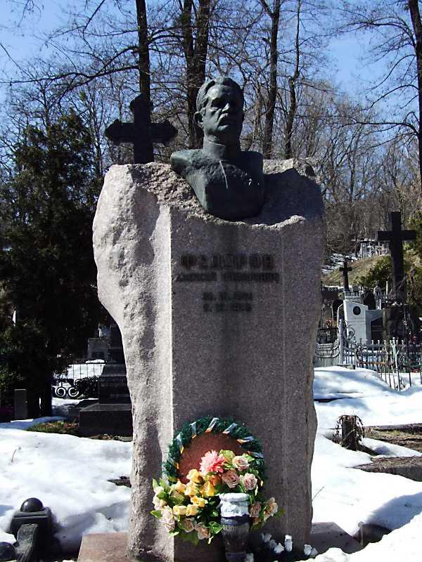 Могила Федорова О. Ф. (1901 – 1989)