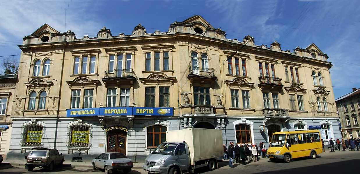 2013 р. Фасад по вул. Шота Руставелі