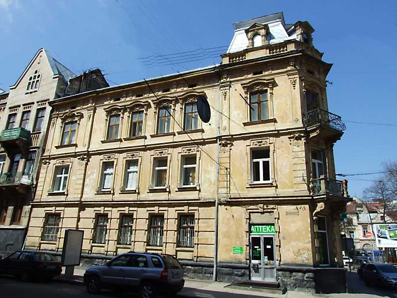 2013 р. Фасад по вул. Зарицьких