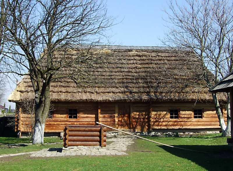 Садиба Якова Франка – батька Івана Франка – у селі Нагуєвичі (нині Дрогобицького району Львівської області).