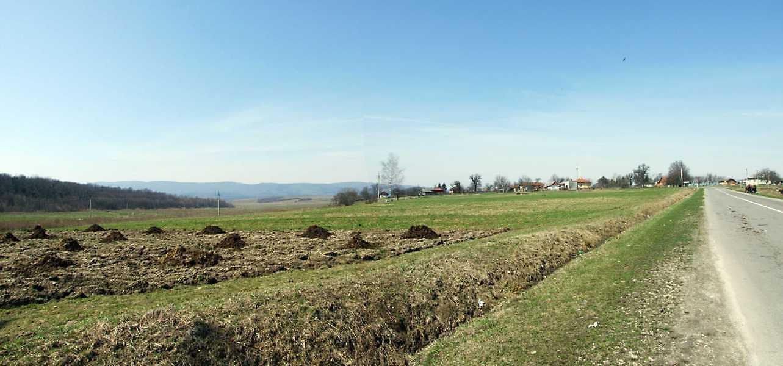2013 р. Панорама села Нагуєвичі зі сходу