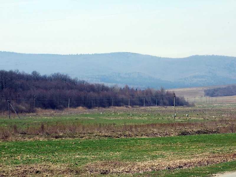 2013 р. Краєвид долини на схід від Нагуєвич