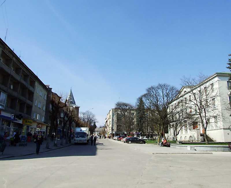 Західна частина площі