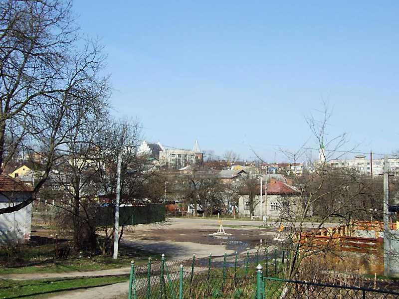 2013 р. Панорама центру Дрогобича з…