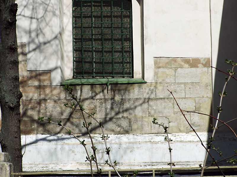Фрагмент мурування бабинця