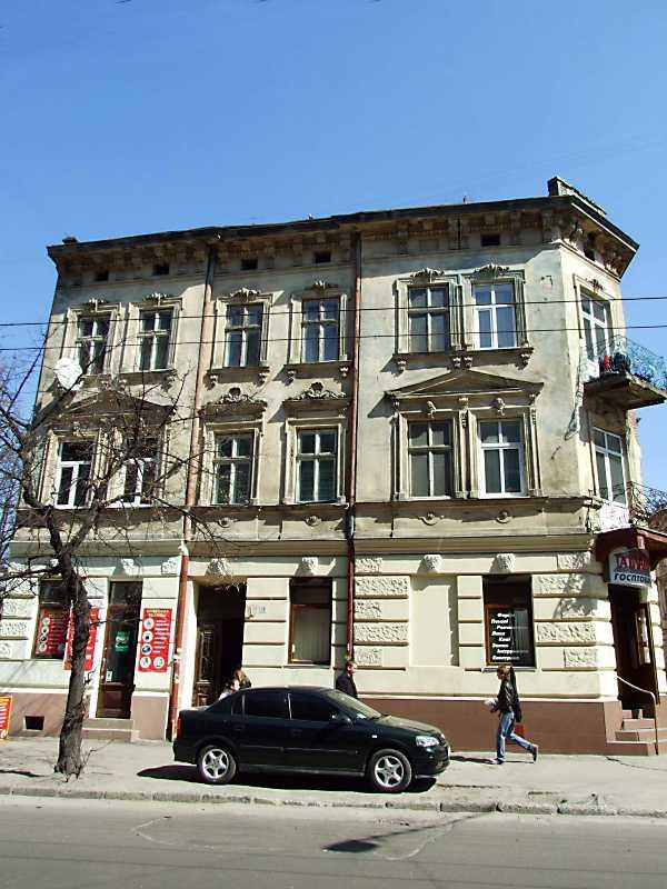 2013 р. Фасад по вул. Куліша