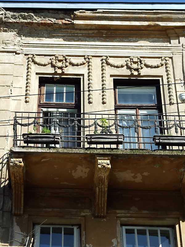 2013 р. Сецесійний балкон 3-го поверху