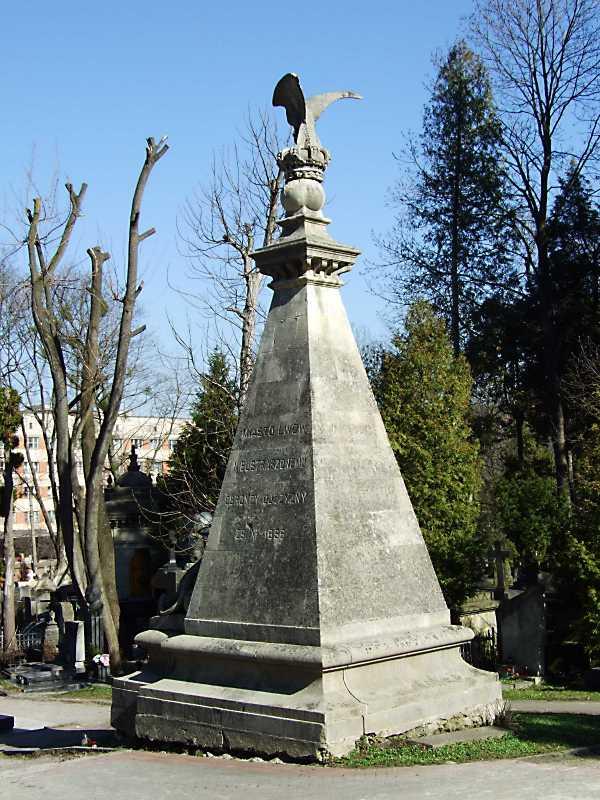 Могила Ю. Ордона (1810 – 1887)
