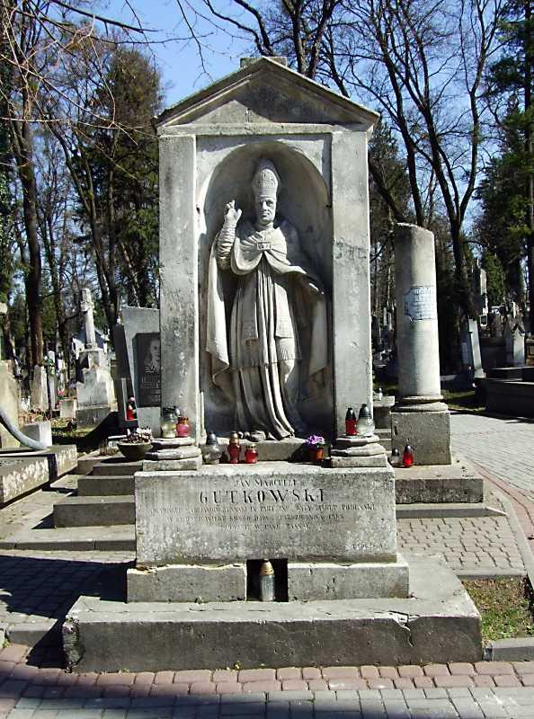 Могила Я. Гутковського (1775 – 1863)