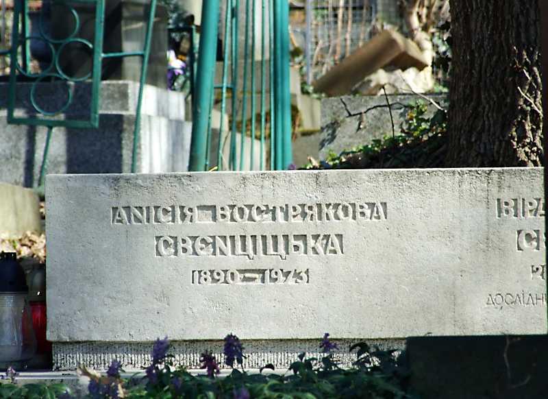 Нагробок Анисії…