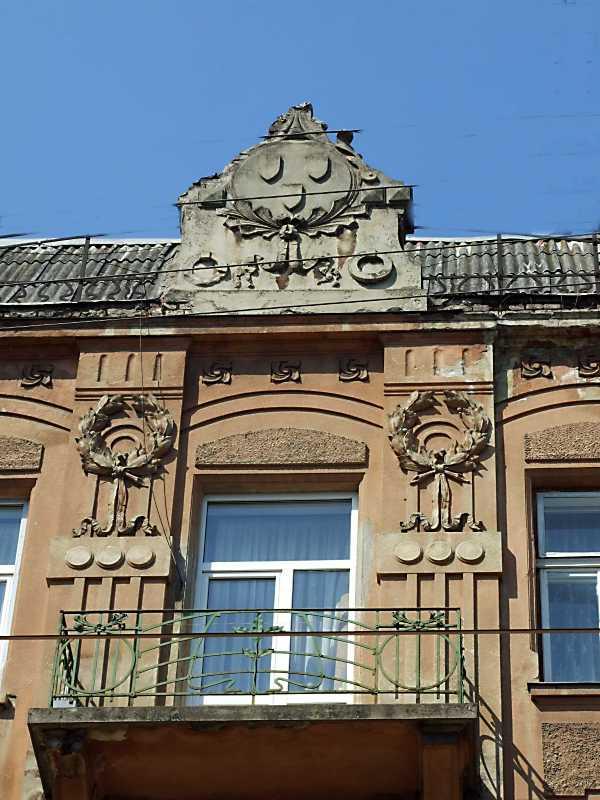 Сецесійний балкон 4-го поверху та…