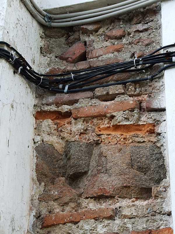 Фрагмент зондажа (стіна)