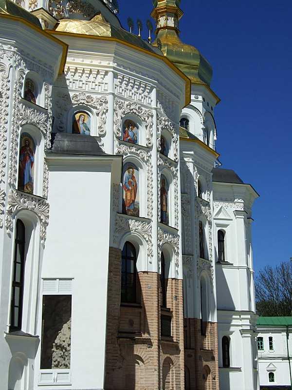 Центральна апсида Успенського собору