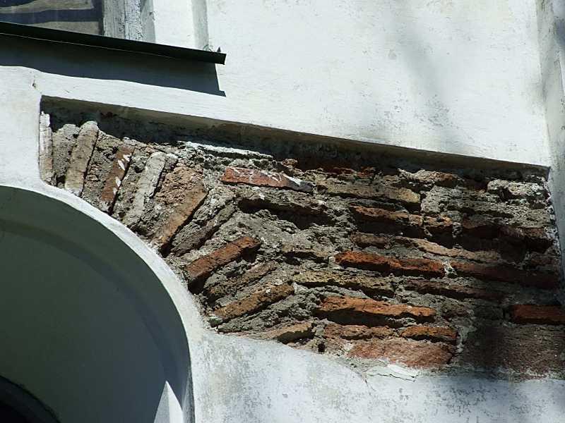 Зондаж лиштви вікна із давньоруською…