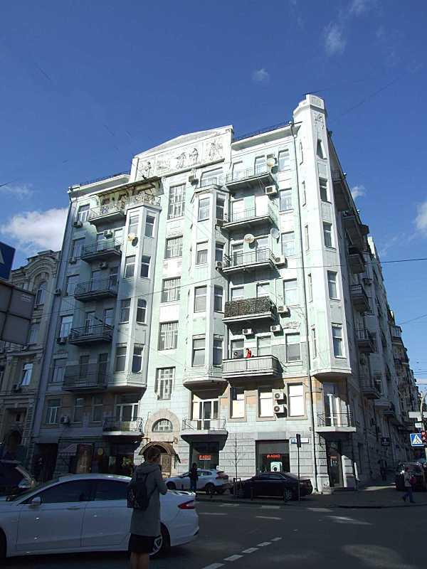 2020 р. Фасад по вул. Саксаганського