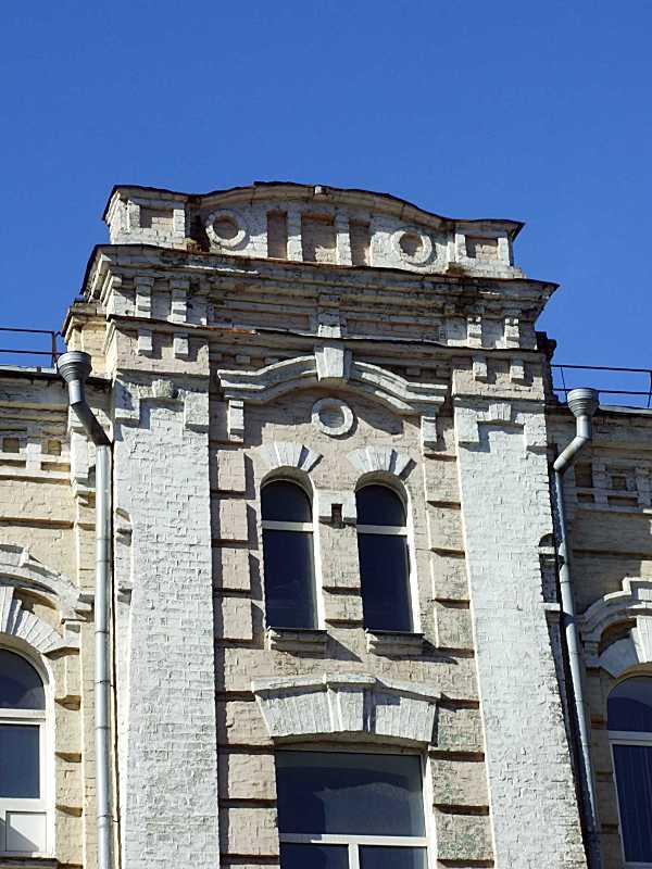 Вікна 4-го поверху сходової клітки