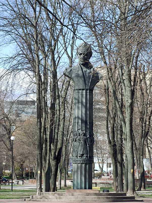 Пам'ятник І.П.Котляревському (№ 20)
