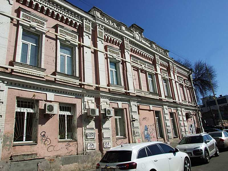 2020 р. Фасад по Ярославському провулкі