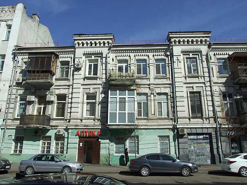 2020 р. Ліва частина фасаду по вул.…