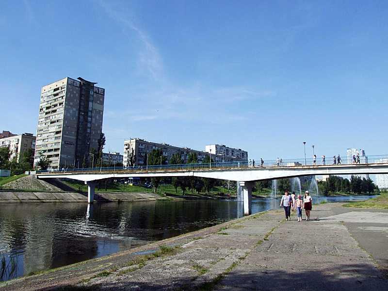 Міст № 2 (південний пішохідний міст)