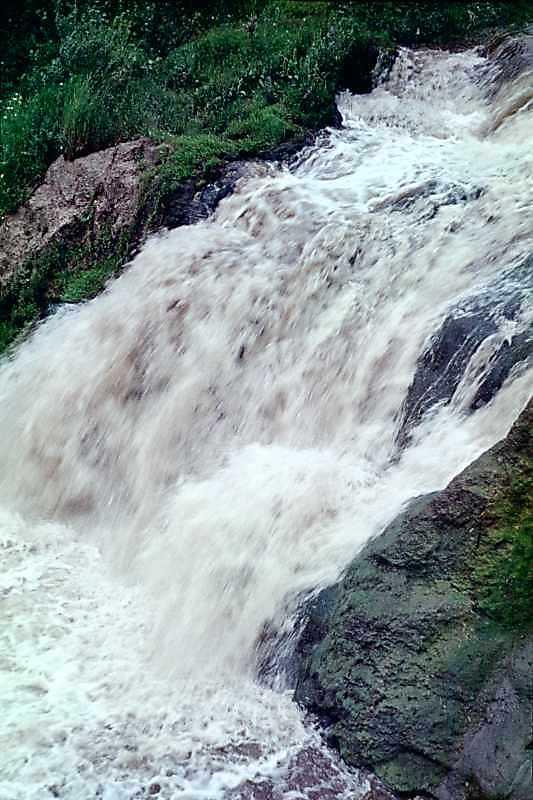 1988 р. Водоспад