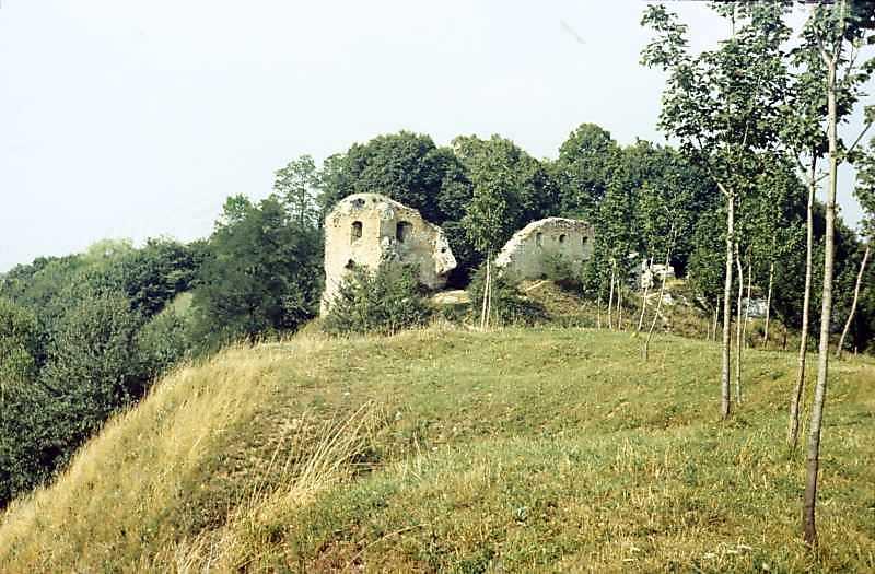 1990 р. Башта і чільний мур. Вигляд з південного заходу