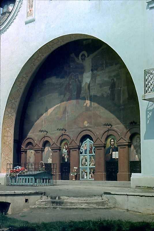 1990 р. Відкритий вівтар. Вигляд з південного заходу