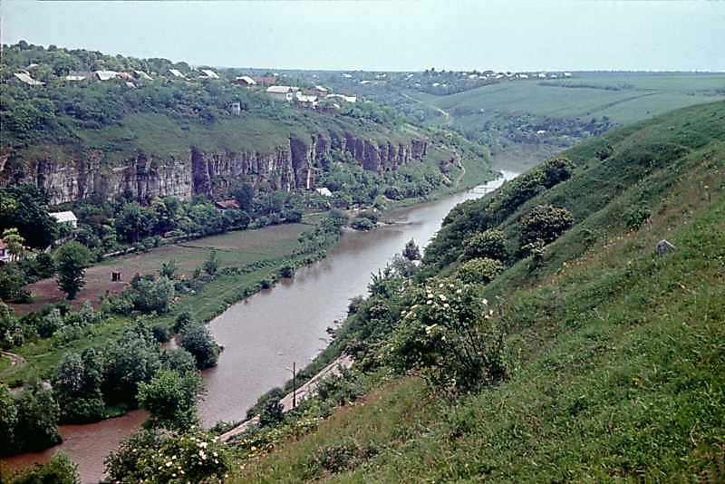 1979 (? 1977?) р. Вид на Смотрич на південь від замку