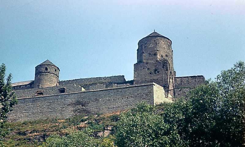 1977 р. Вигляд з Карвасар (башти…