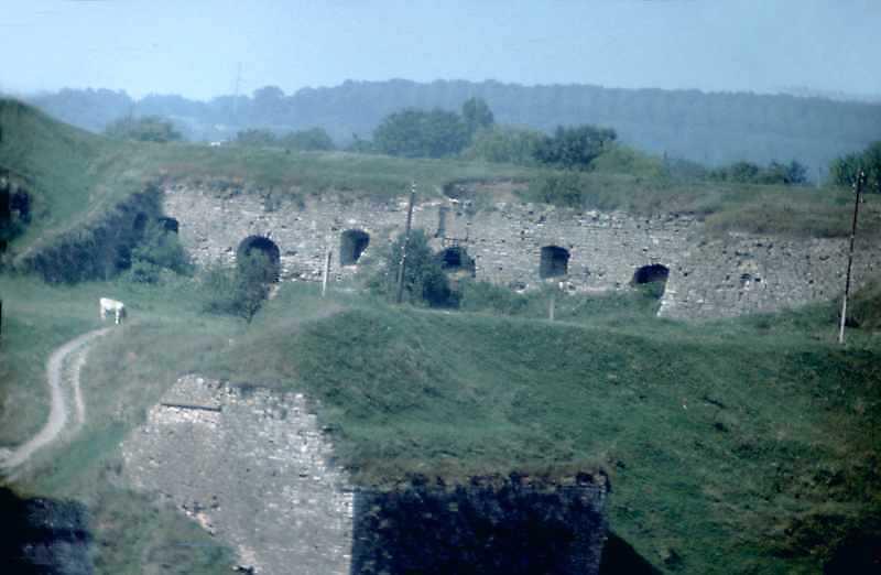 1989 р. Двір. Вигляд з південного сходу, з Вірменського бастіону