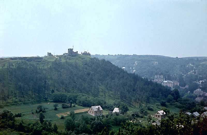 1977 р. Вид на Замкову гору і центр…